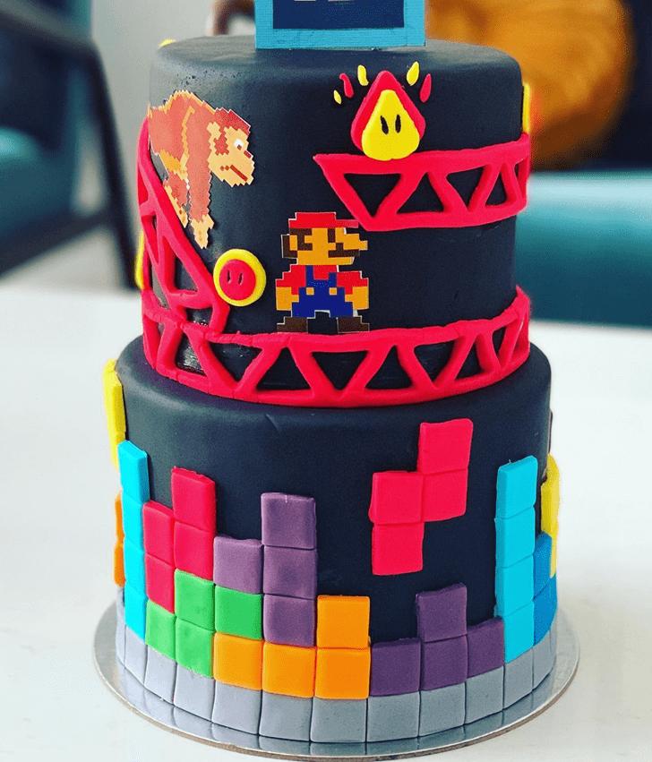 Divine Tetris Cake