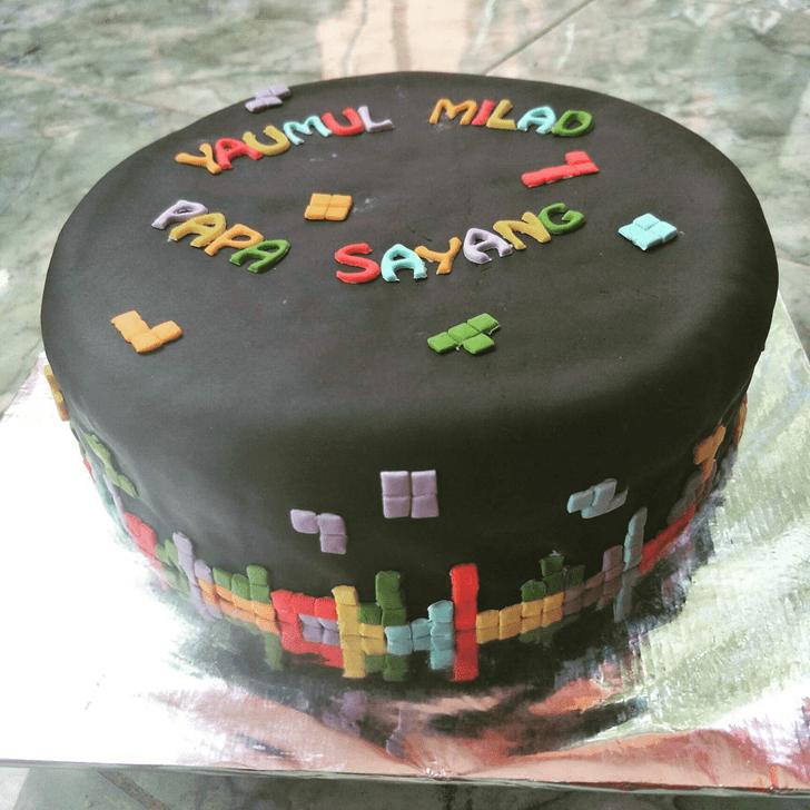 Excellent Tetris Cake
