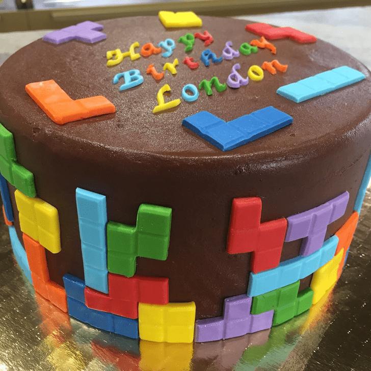 Exquisite Tetris Cake