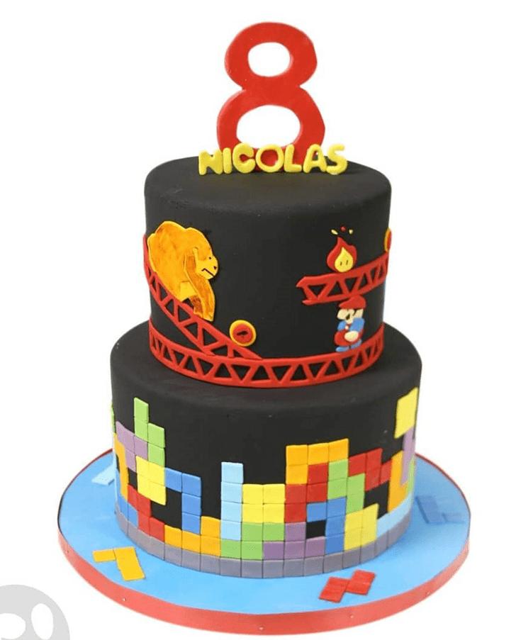 Fine Tetris Cake