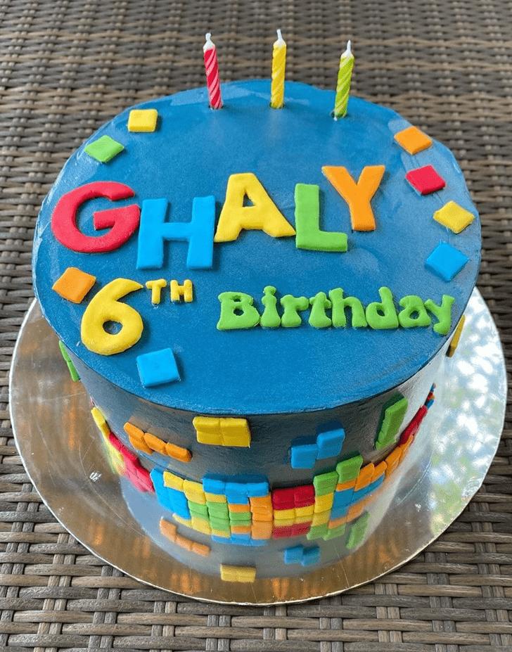 Gorgeous Tetris Cake