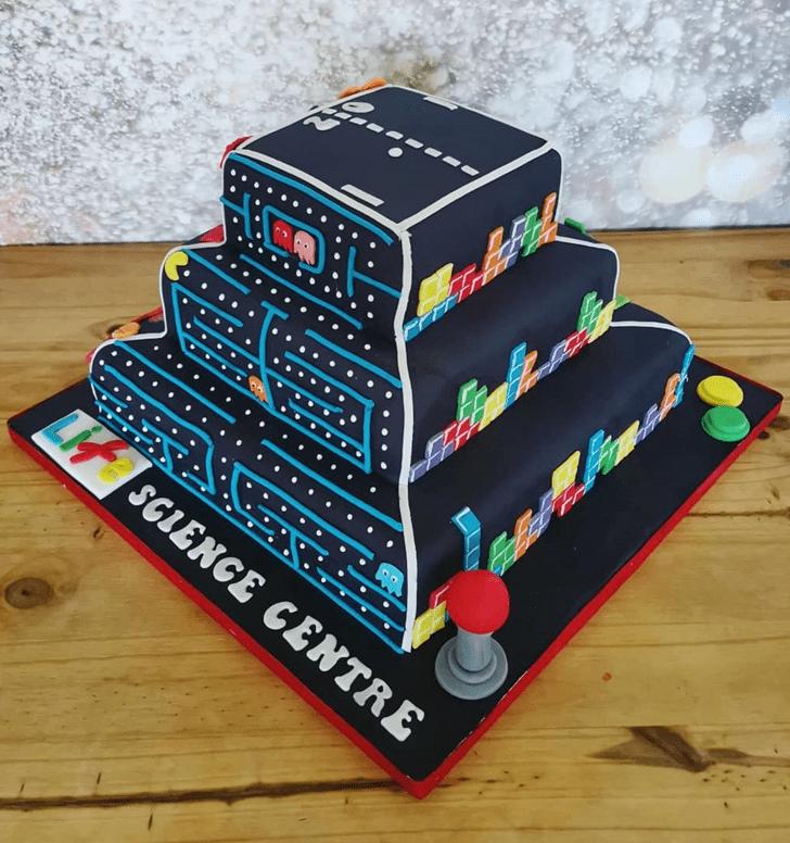 Grand Tetris Cake