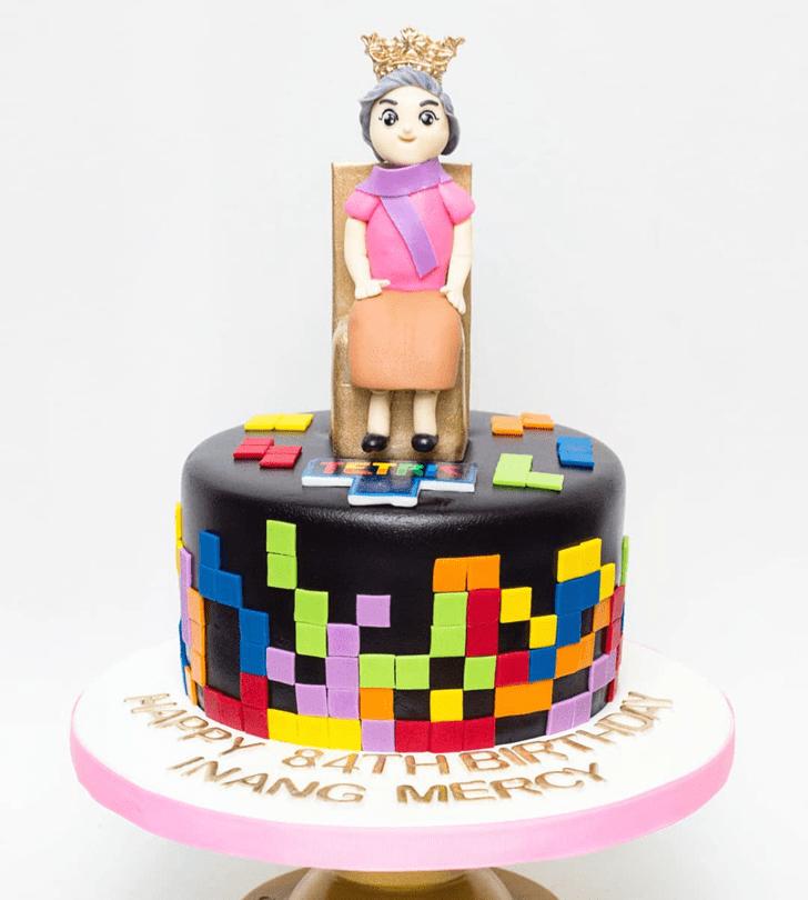 Magnificent Tetris Cake