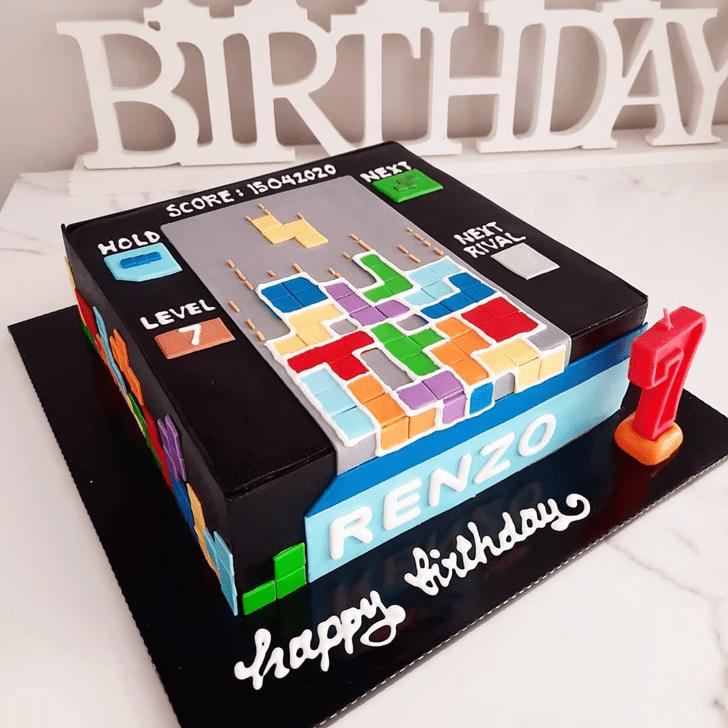 Marvelous Tetris Cake