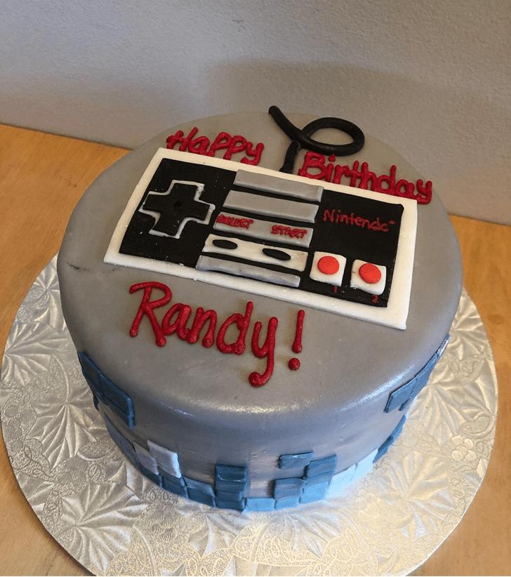 Ravishing Tetris Cake