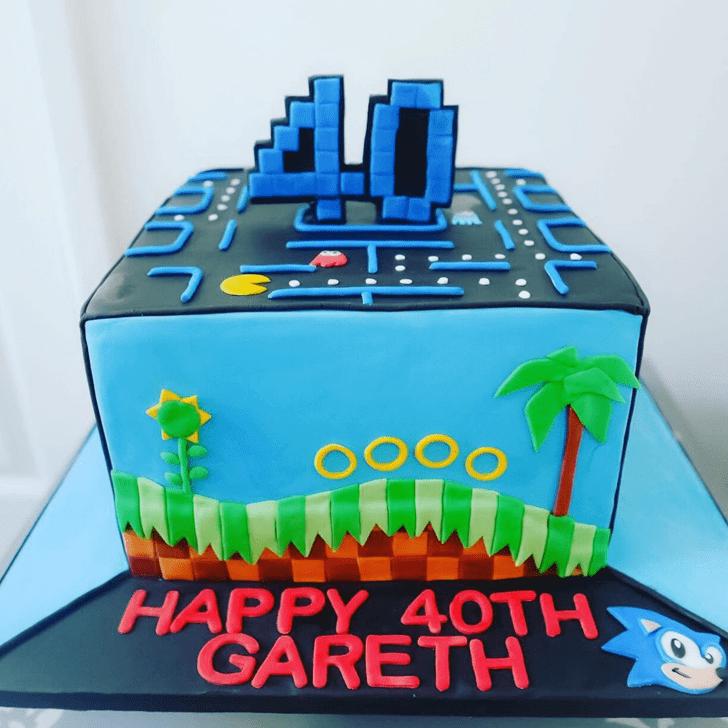 Shapely Tetris Cake