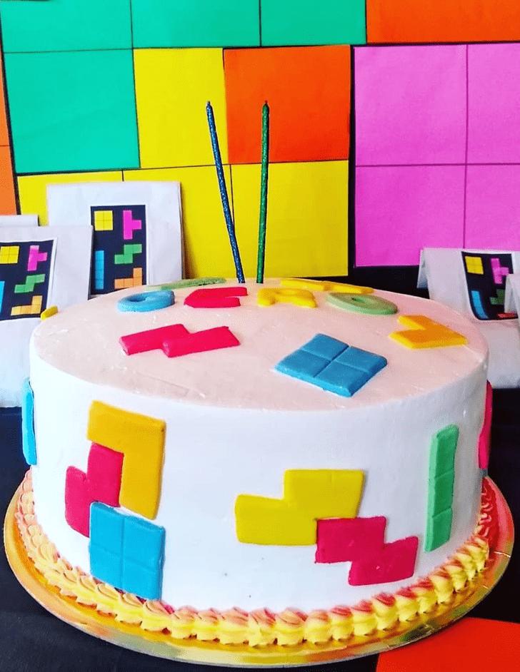 Splendid Tetris Cake