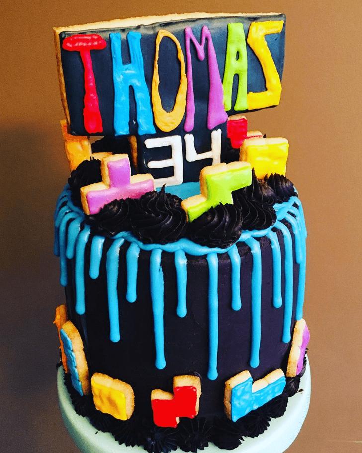 Stunning Tetris Cake