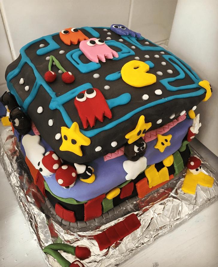 Superb Tetris Cake