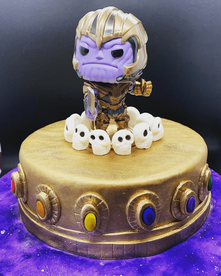 Beauteous Thanos Cake