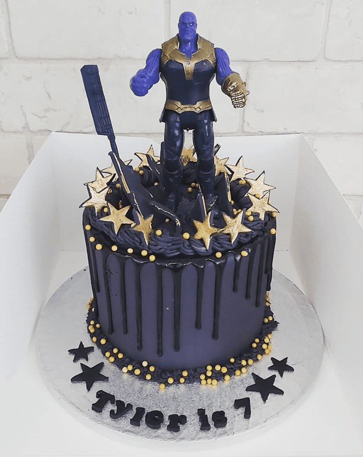 Bewitching Thanos Cake
