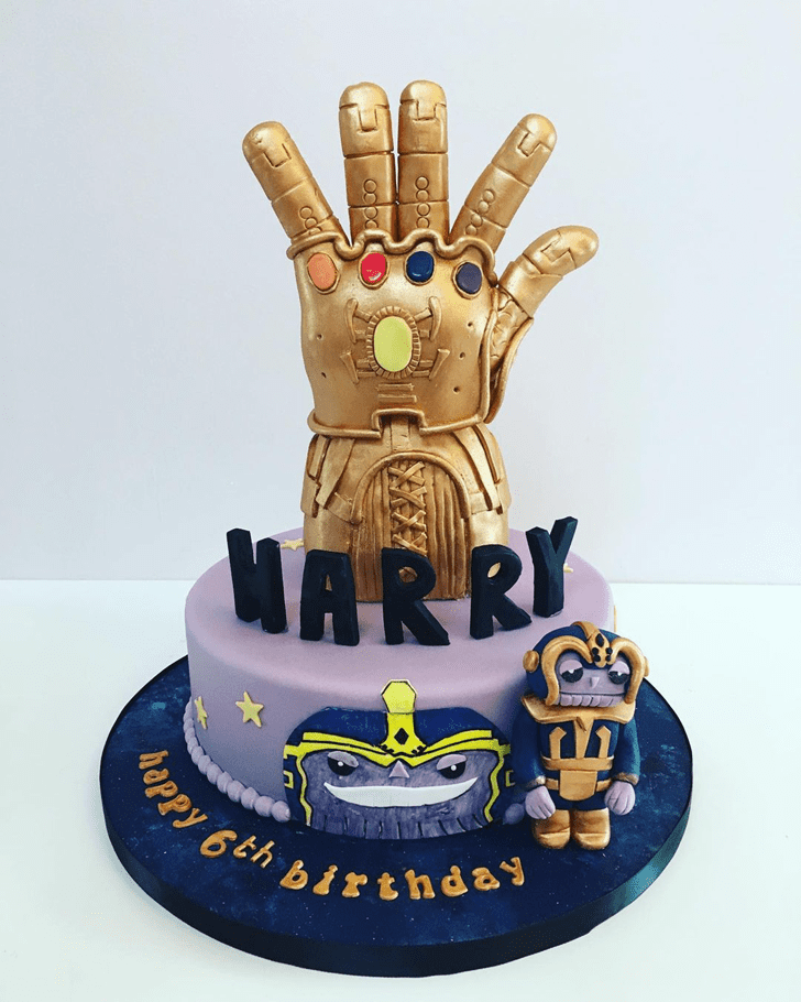 Captivating Thanos Cake