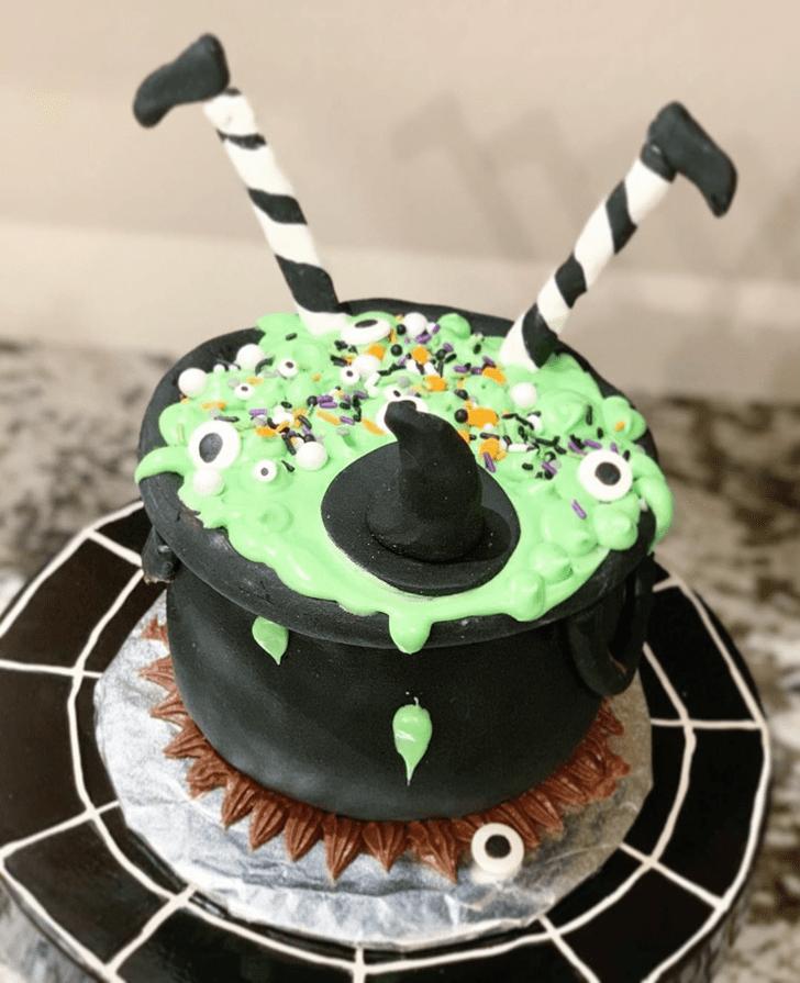 Adorable The Black Cauldron Cake