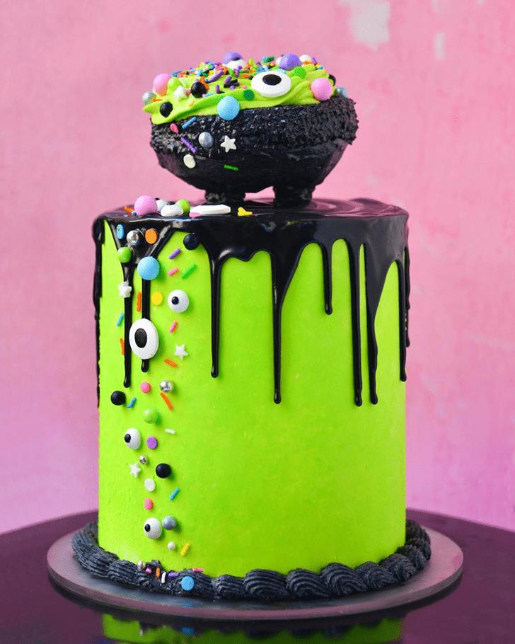 Beauteous The Black Cauldron Cake