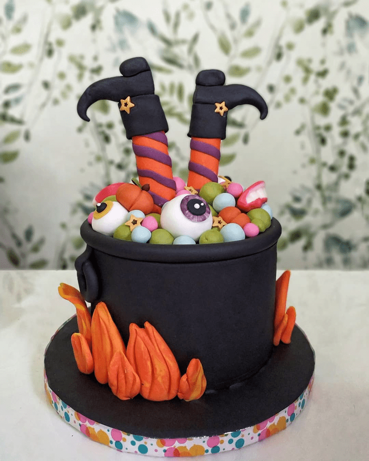 Classy The Black Cauldron Cake
