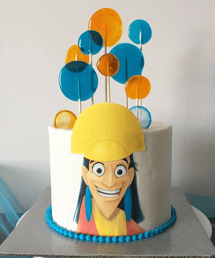 Admirable The Emperor's New Groove Cake Design