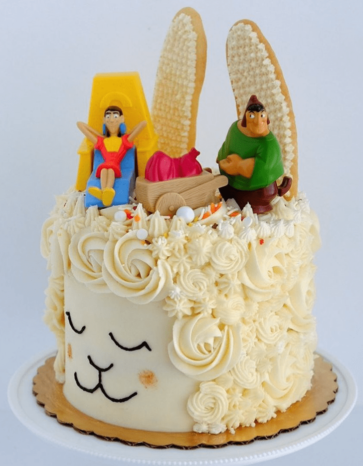 Beauteous The Emperor's New Groove Cake