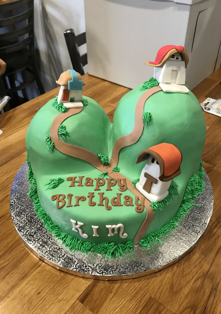Charming The Emperor's New Groove Cake