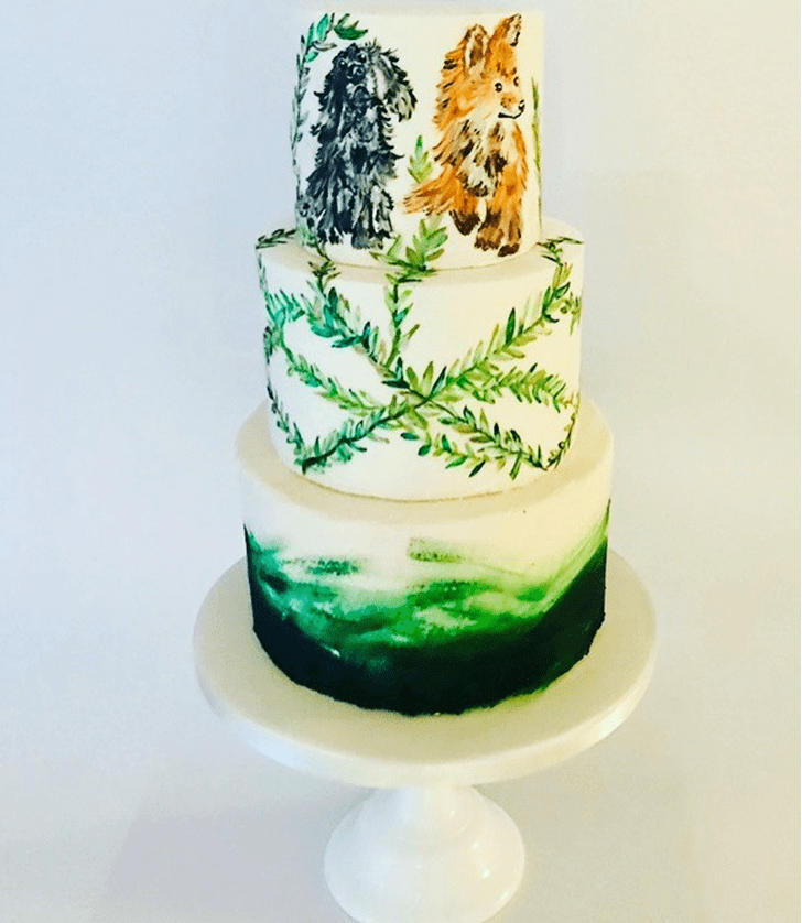 Admirable The Fox and the Hound Cake Design