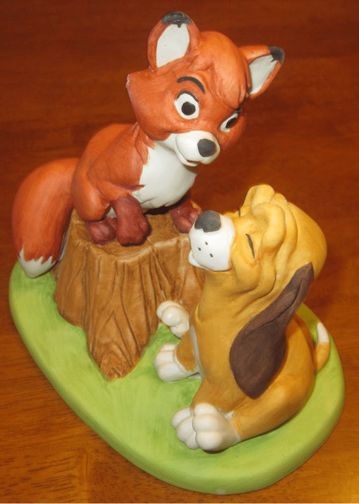 Appealing The Fox and the Hound Cake