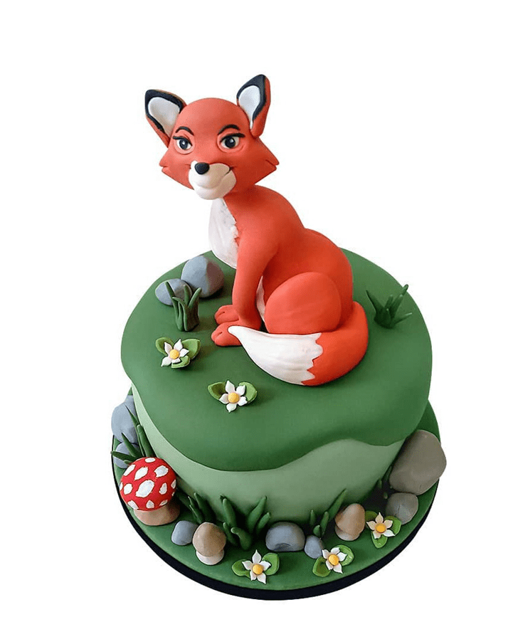 Beauteous The Fox and the Hound Cake