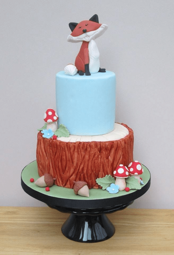 Captivating The Fox and the Hound Cake
