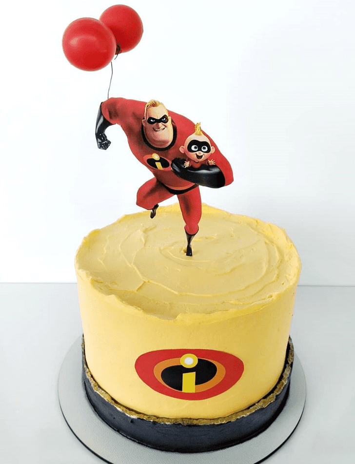Admirable The Incredibles Cake Design