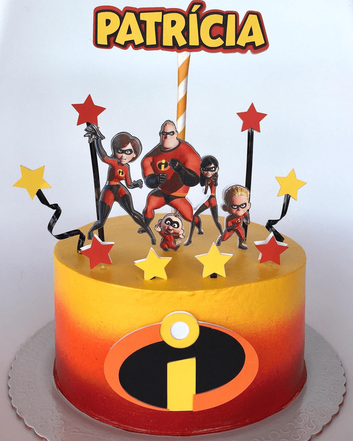 Alluring The Incredibles Cake