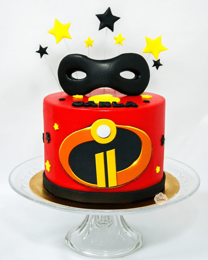 Beauteous The Incredibles Cake