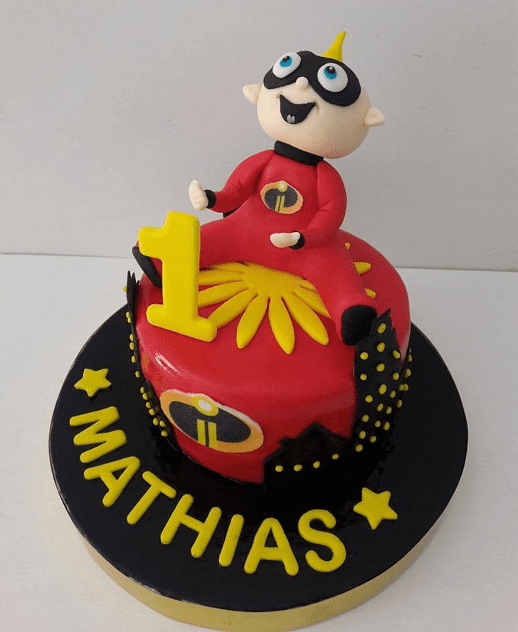 Bewitching The Incredibles Cake