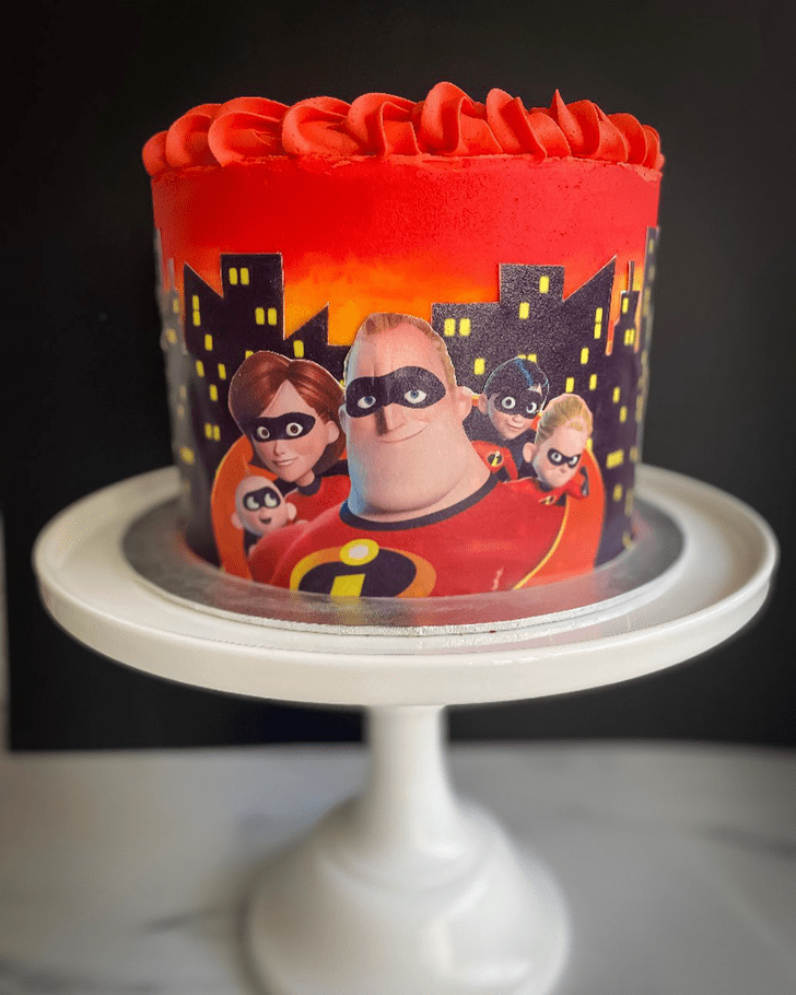 Charming The Incredibles Cake