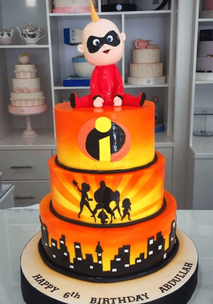 Classy The Incredibles Cake