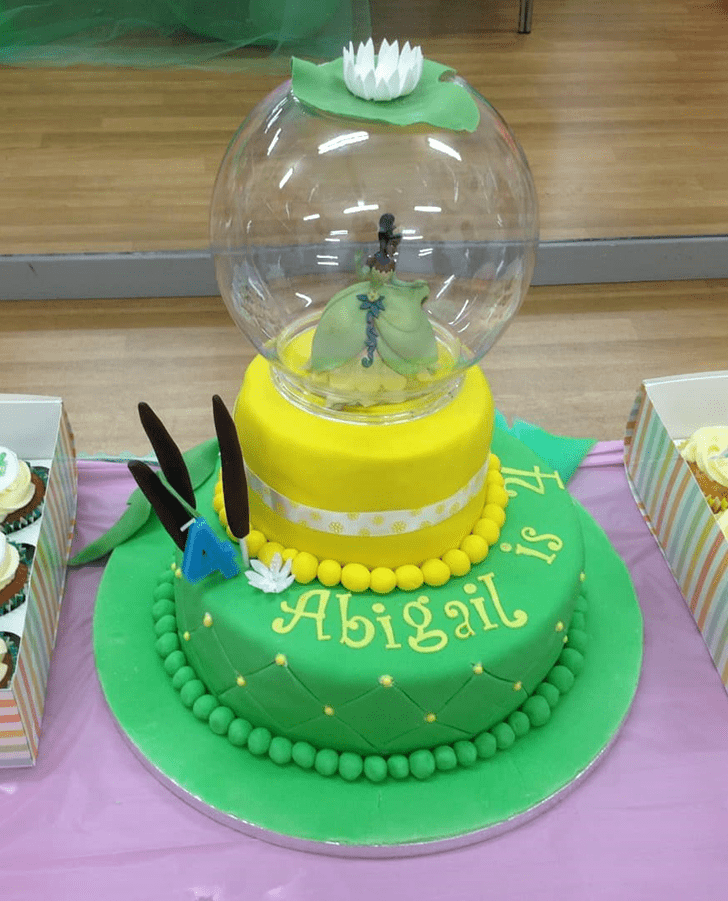 Angelic The Princess and the Frog Cake