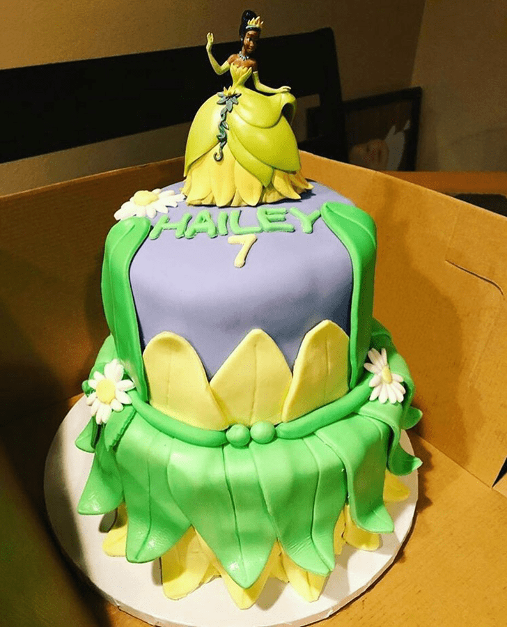 Appealing The Princess and the Frog Cake