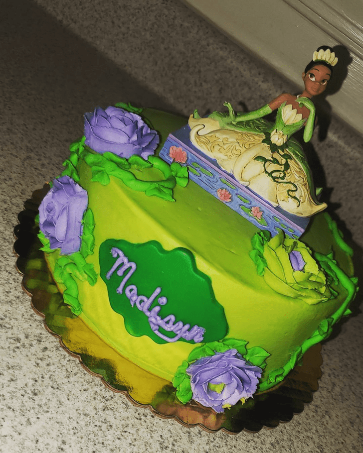 Beauteous The Princess and the Frog Cake