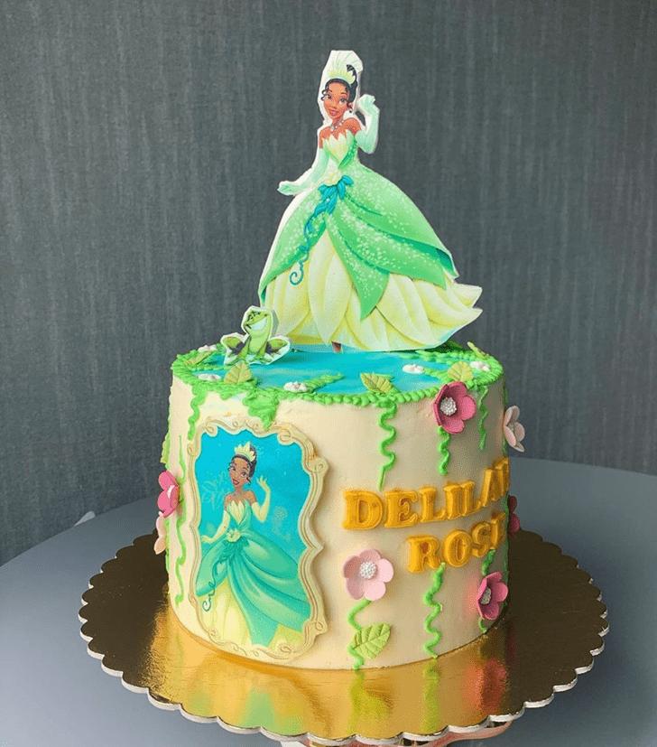 Charming The Princess and the Frog Cake