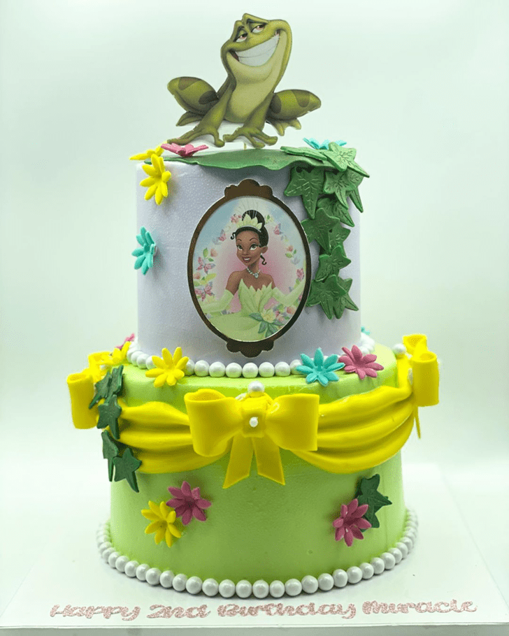 Divine The Princess and the Frog Cake