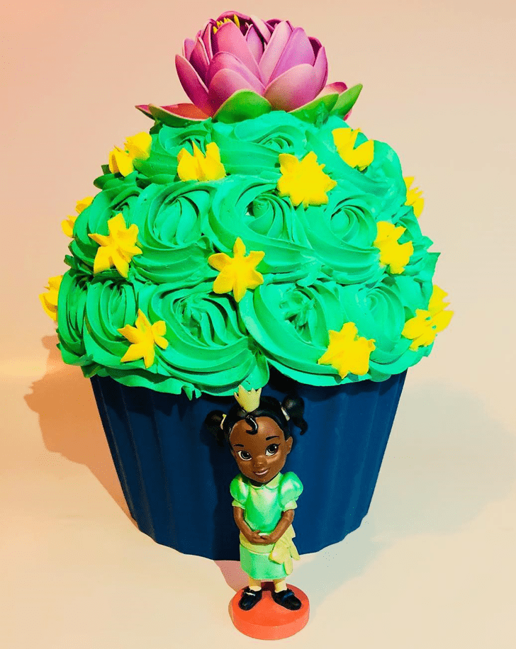 Enthralling The Princess and the Frog Cake