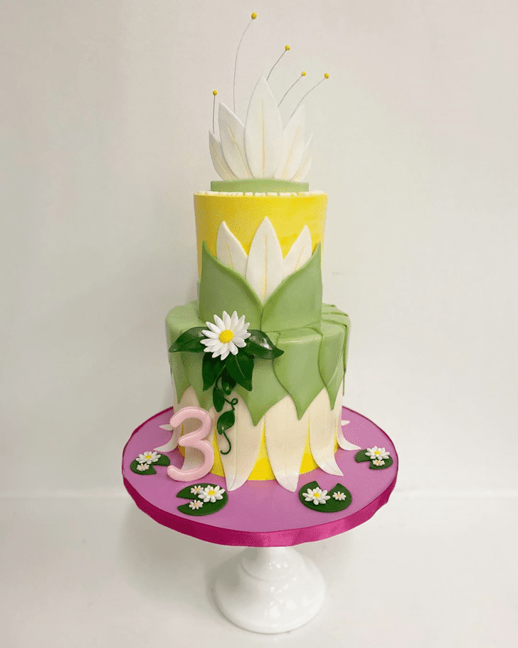Enticing The Princess and the Frog Cake