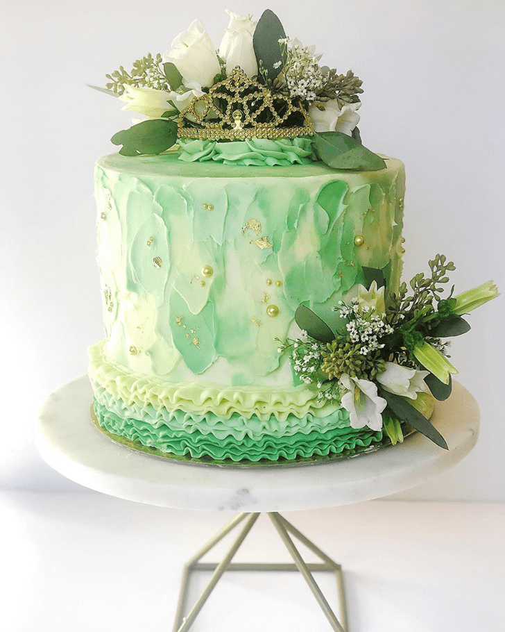 Excellent The Princess and the Frog Cake