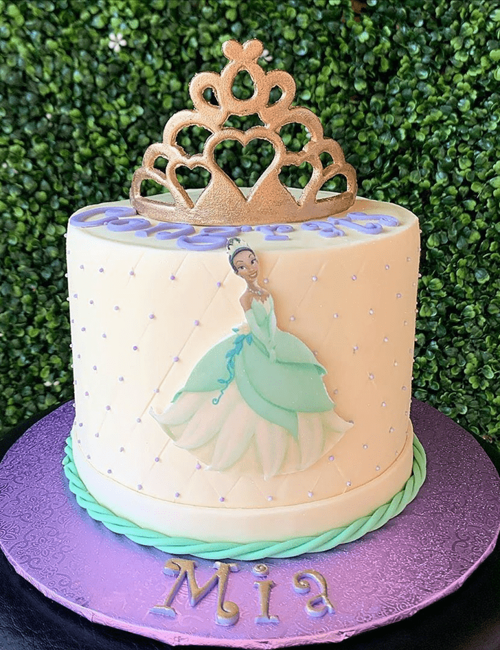 Exquisite The Princess and the Frog Cake
