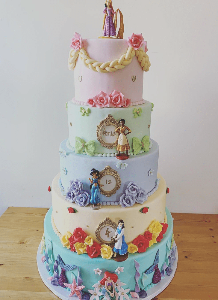 Good Looking The Princess and the Frog Cake