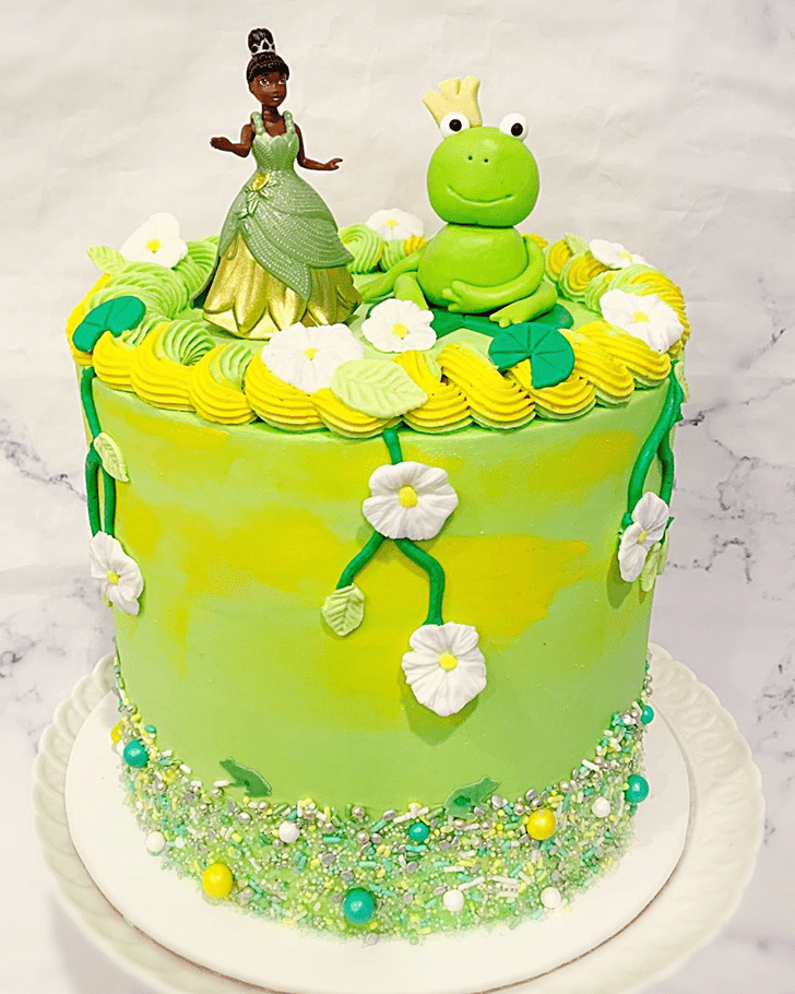Gorgeous The Princess and the Frog Cake
