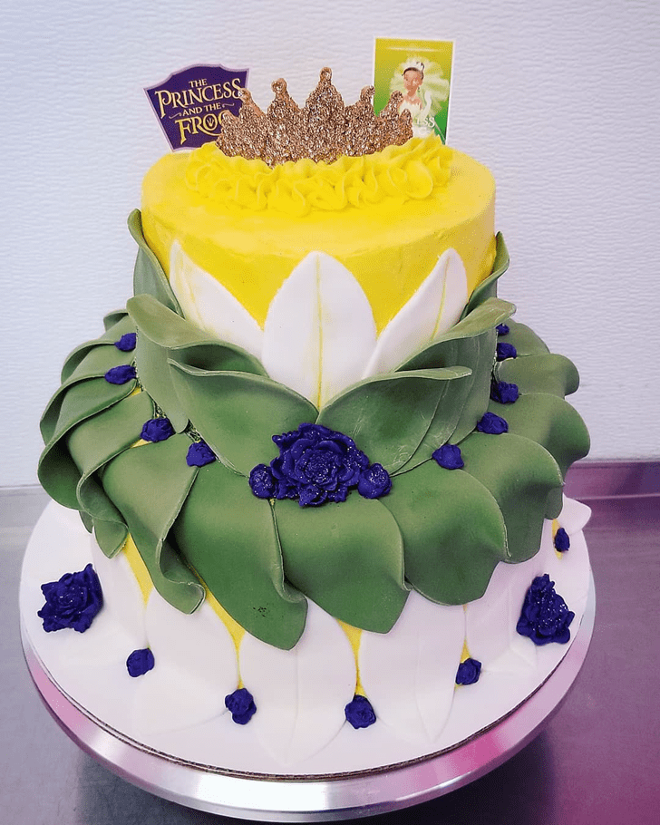 Inviting The Princess and the Frog Cake
