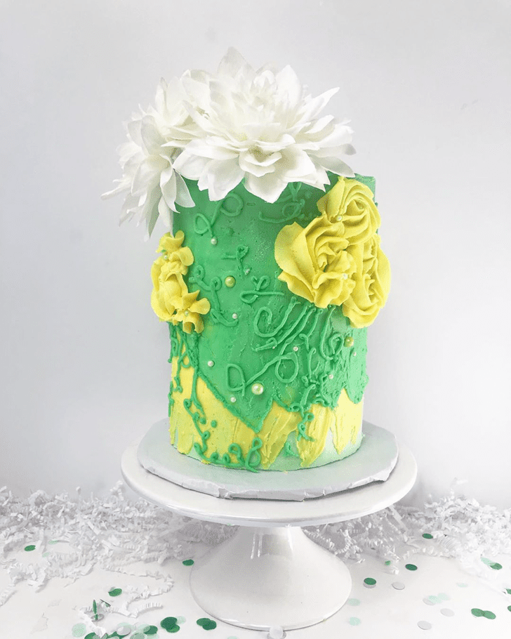 Lovely The Princess and the Frog Cake Design