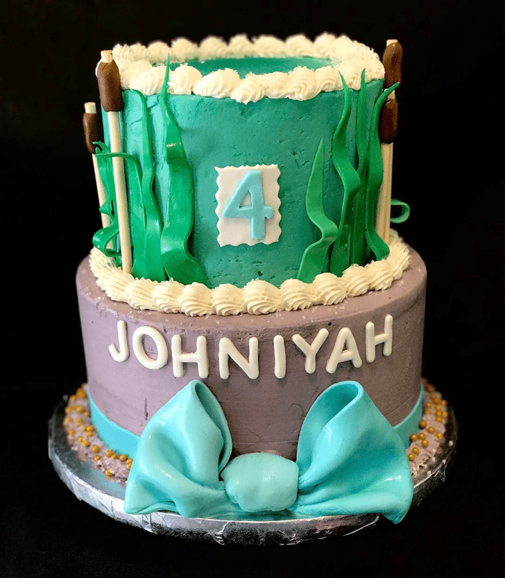 Magnetic The Princess and the Frog Cake