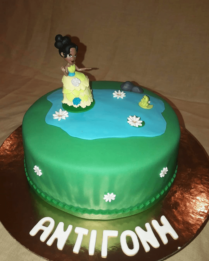 Magnificent The Princess and the Frog Cake