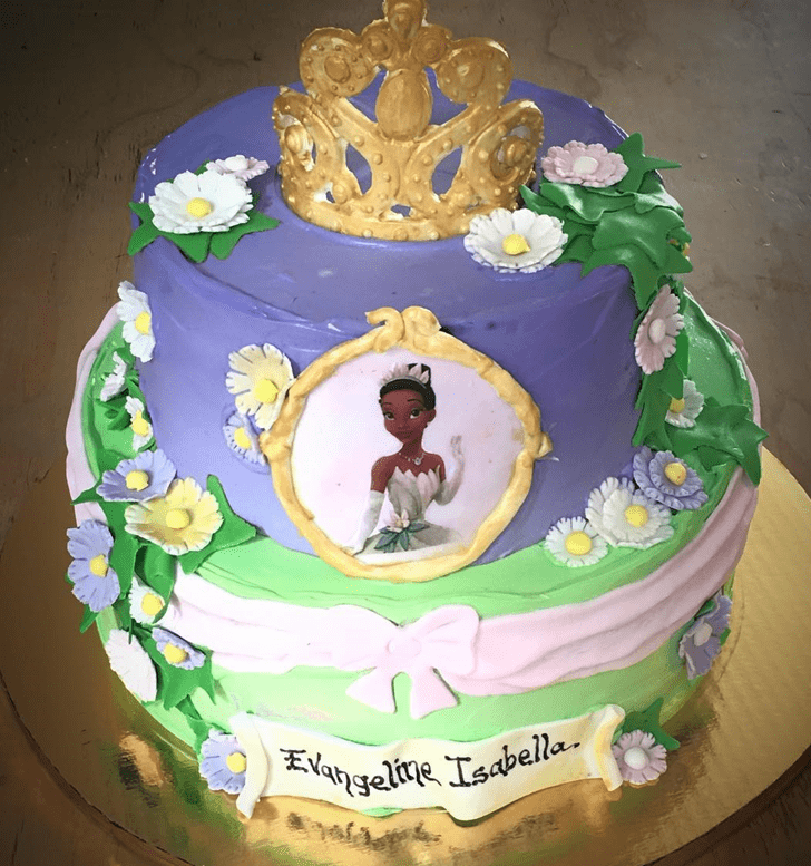 Marvelous The Princess and the Frog Cake