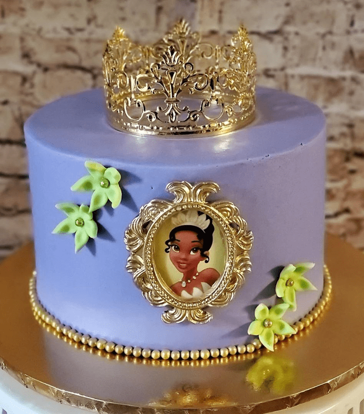 Mesmeric The Princess and the Frog Cake
