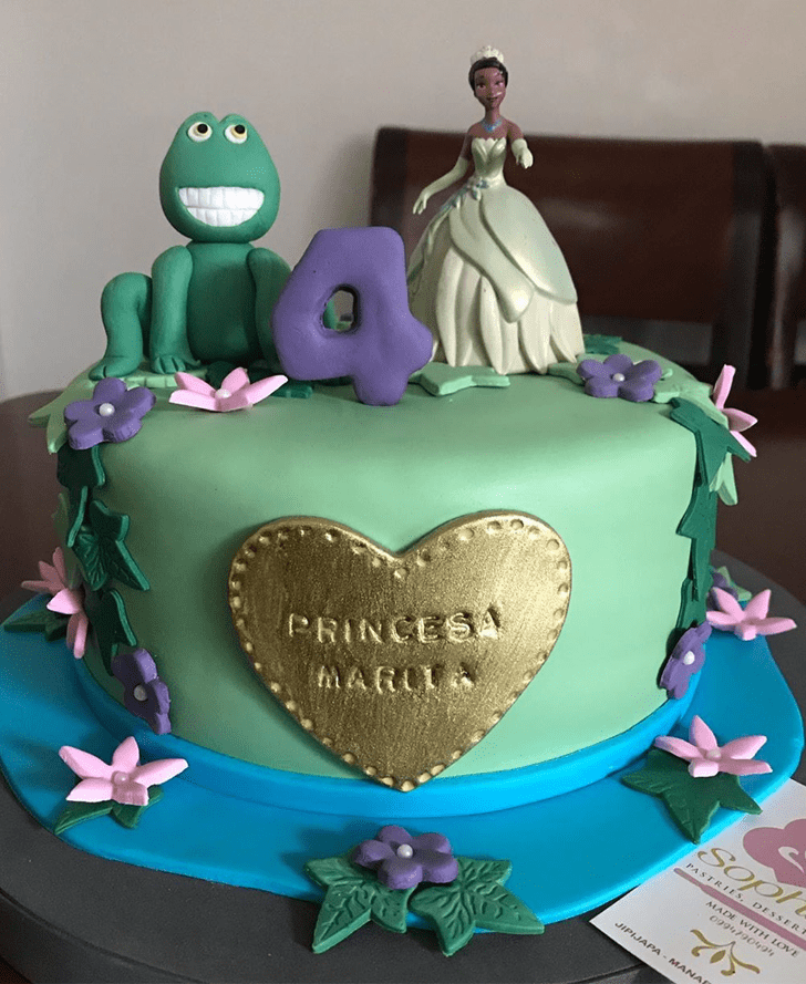Pleasing The Princess and the Frog Cake